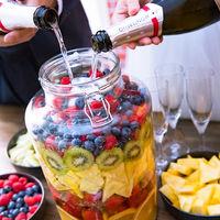 見た目も可愛い果実酒ラウンドならゲストとの思い出になるはず