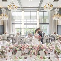 【シャイン】ガーデンテラスから自然光が降り注ぐラグジュアリーな会場!グランドピアノとシャンデリアが輝く中、上質なパーティーを
