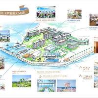 リビエラ逗子マリーナ場内MAP