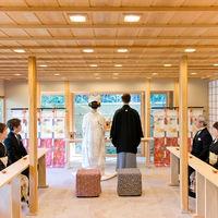 ご親族様で行う神前結婚式♪ 最大20名様まで収容可能です