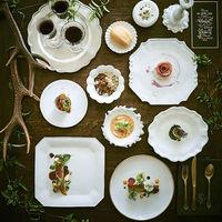 実際の婚礼コースが味わえるフェアも魅力の一つ。美食のおもてなしにこだわりたいおふたりは実際にチェックを。一皿一皿に熊本の大地や自然を感じることのできるコースです。