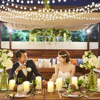 【グランピングウエディング】 What's「グランピング」非日常体験×安心の開放感 ◆コロナ禍だからこそ感染リスクを下げて開放的に楽しみたい ◆人と違う結婚式にしたい  ◆写真映えするお料理と空間で結婚式を楽しみたい ◆とにかくアットホームにした
