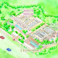 広大な敷地に中に独立型チャペルKOMMOREBIと選べる2つの邸宅が