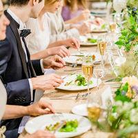 ゲストとのお食事タイムをめいっぱい楽しんで