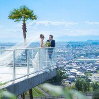 熊本市街から阿蘇の山々まで見渡せるダイナミックなスカイビューを独占。