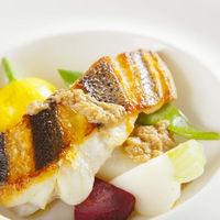 『魚料理』 本日鮮魚と彩り野菜のバーニャカウダ