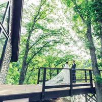 南軽井沢の大自然に包まれた絶好のロケーション
