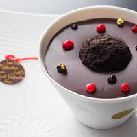 ショコラセンセーション なめらかなグアナジャのクリームと練乳のグラス