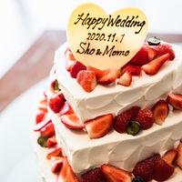 ハート形の3段ケーキ!