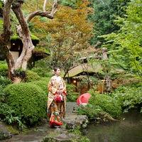 四季折々の庭園と艶やかな色打掛で古き良き日本の結婚式を。