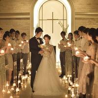 キャンドル挙式を彩る誓いと絆のキャンドルリレー演出