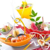 西洋料理・日本料理・中国料理・折衷料理と、バリエーション豊富な中からお選びいただけるお料理