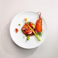 パーティーにふさわしい華やかなフランス料理に 日本料理の美意識をマッチング