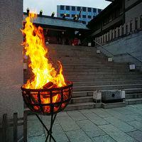 人気の篝火挙式! 冬季限定、時刻限定 12月1月2月挙式希望のカップルは 要チェック