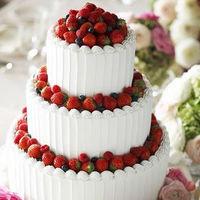 オリジナルデザインのウェディングケーキ