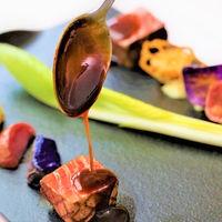 牛フィレ肉のグリエと季節の野菜 ベアルネーズソース
