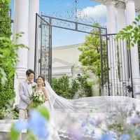 花嫁を素敵に見せる正面ゲート