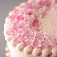 【ケーキ】 ゲストのお誕生日や記念日をお祝いするミニケーキのサプライズも人気