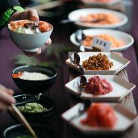 驚きのサプライズ、お茶漬けビュッフェは伝統ある菊水楼だからこそできる演出