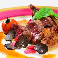 黒毛和牛フィレ肉とフォアグラのポワレ