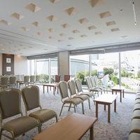 ご親族様をお迎えする親族控室は東京ドームが一番近く見えるお部屋
