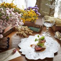 シェフ特製、レストランとしても人気の贅沢料理がフェアでは無料で試食できる。