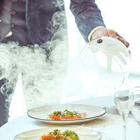 フワッと薫るさくらチップから登場する美食