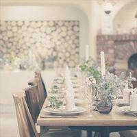 流しテーブルは、ご親族様との会食にピッタリ。