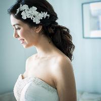 花嫁の美しさを一層引き立てるヘアメイク