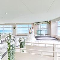 地上141m、43階。宮崎のシンボルタワー シェラトン・グランデ・オーシャンリゾートの最上階に位置する絶景のチャペル「エル・シエロ」