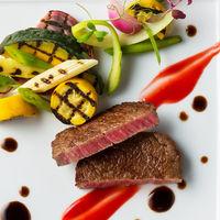 お肉の焼き加減はゲストひとりひとりのお好みに合わせたものをセレクト