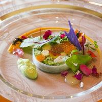 色鮮やかなお料理は五感で楽しめる♪