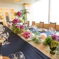 レストラン個室は人数に合わせて会場の広さ、レイアウトをチョイスできます。