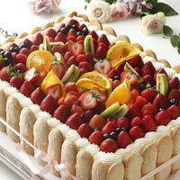 シェフ特性オリジナルウェディングケーキ