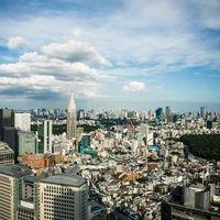 39階ホワイエやドローイングルームからは、東京を一望できるビューがゲストをお迎えします。