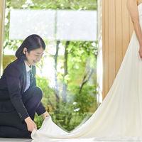 担当プランナーが結婚式当日もおふたりの一番近くでサポートします