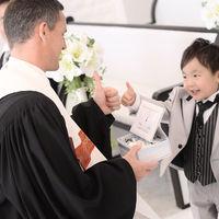 #パパママ婚 お子様が#リングガール