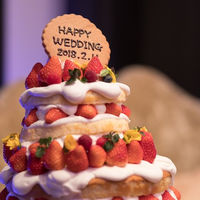 ウェディングケーキはおふたりの想いのままに♪