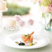 Seasonal Wedding Menu Spring:冷前菜