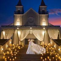 本格的な大聖堂、憧れの大階段!