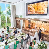 オープンキッチン併設の会場なので、アツアツのお料理が楽しめる