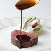 Delightful feast  ~歓喜の宴~  牛フィレ肉のロースト ポテトと野菜のフォアグラ入りグラタン