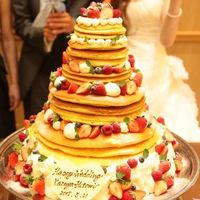 専属パティシエと打合せして創り上げるお二人だけのウエディングケーキ