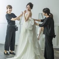 """ドレスショップ、""""アンジェリ""""。花嫁のご希望をお伺いしてぴったりの1着をご提案"""