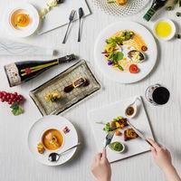 和食とフレンチを融合した美食は、食通のゲストの舌をうならせるはず。