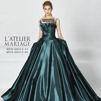 大人花嫁にオススメの新作カラードレス♪