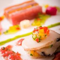 レガロ自慢の料理。季節の食材を一番美味しく調理致します。