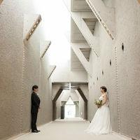 美術館へつながる廊下