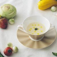 スープは旬のお野菜を使って、その季節の美味しいものを♪