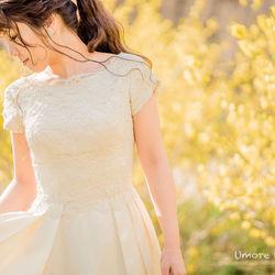 ロケーション 京都前撮り 洋装 洋装持ち込み ドレス ウェディングドレス weddingdress ドレス持ち込み ロケフォト UmoreWedding ユーモアウェディング